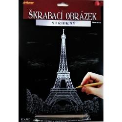 Škrábací obrázek, Eiffelovka