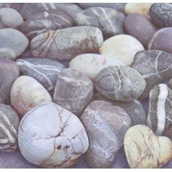 Ubrousek s kameny 33x33 cm