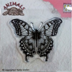 Gelové razítko, Motýlek, Nellie Snellen