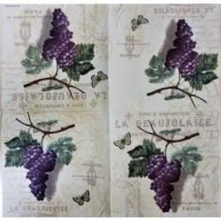 Ubrousek Víno hrozen