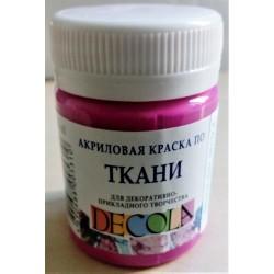 Barva na textil, Fuchsiová, Decola, 50 ml