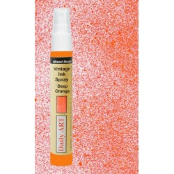 Barva na textil, Vintage, Tmavá oranžová, 30 ml, DailyART