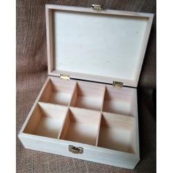 Krabička na čaje, 23,5x17x9cm, Efco