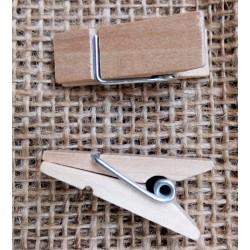 Kolíček dřevěný, přírodní, kónický, d. 3,5cm