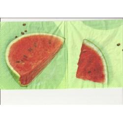 Ubrousek meloun 33x33 cm