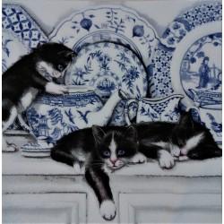 Ubrousek, Koťata v porcelánu