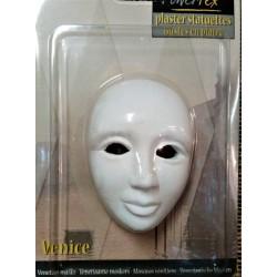 Maska, sádrový odlitek, 8,5 x 6 x 4cm