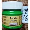 Akrylová barva matná, listově zelená, 50 ml