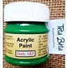 Akrylová barva matná, kopřivové listy, 50 ml