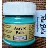 Akrylová barva matná, tyrkysová, 50 ml