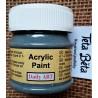 Akrylová barva matná, břidlicová, 50 ml