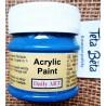 Akrylová barva matná, námořnická modř, 50 ml