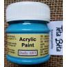 Akrylová barva matná, nebeská modrá, 50 ml