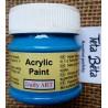 Akrylová barva matná, modrá, 50 ml