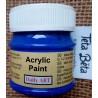 Akrylová barva matná, ultramarin, 50 ml