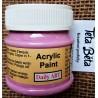 Akrylová barva matná, fuchsiová, 50 ml