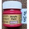 Akrylová barva matná, šarlatová, 50 ml