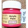Akrylová barva matná, amarantová, 50 ml