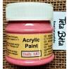 Akrylová barva matná, melounová, 50 ml