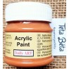 Akrylová barva matná, skořicová, 50 ml