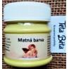 Akrylová barva matná, citronově žlutá, 50 ml