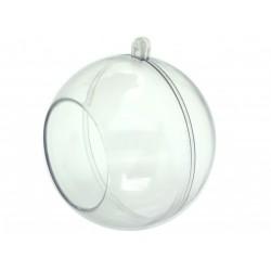 Plastová koule, ozdoba, formička, 8 cm