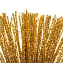 Chlupatý drátek zlatý, 30 cm