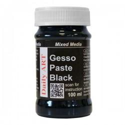 Gesso pasta černá, 100 ml