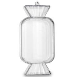 Plastový bonbonek, na zavěšení 3x12,5 cm