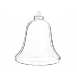 Plastový zvoneček, na zavěšení 9,5x8,5 cm