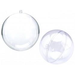 Plastová koule dvoudílná, 8 cm, Meyco