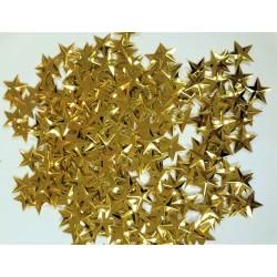 Flitry, našívací, zlaté hvězdičky, 20 g