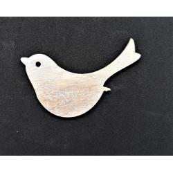 Výřez z překližky, ptáček, 1,6 cm x 3 cm