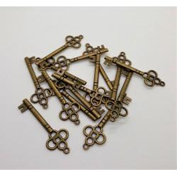 Kovový přívěsek, klíček 4,5 x 1,5 cm