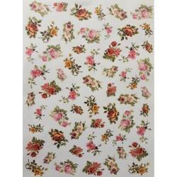 Rýžový papír, Malé růžičky, A4