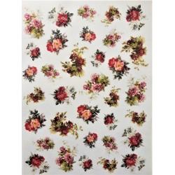 Rýžový papír, Malé anglické růžičky, A4