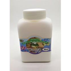 Lepidlo a lesklý lak na dekupáž, 2v1, 90 ml