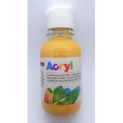Akrylová barva, Žlutý okr, 125 ml