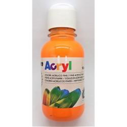 Akrylová barva, Oranžová, 125 ml