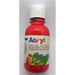 Akrylová barva, Karmínová, 125 ml