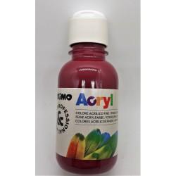 Akrylová barva, Bordó, 125 ml