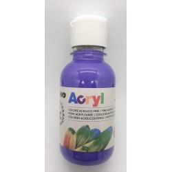 Akrylová barva, Fialová, 125 ml