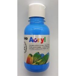 Akrylová barva, Tyrkysová, 125 ml