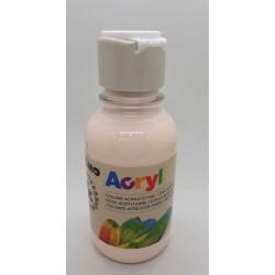 Akrylová barva, Růžová tělová, 125 ml