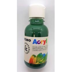 Akrylová barva, Tmavě zelená, 125 ml