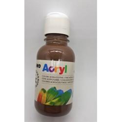 Akrylová barva, Hnědá přírodní, 125 ml