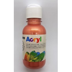 Akrylová barva, Měděná, 125 ml