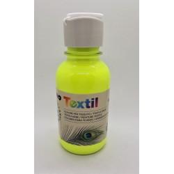 Barva na textil, Žlutá, fluorescenční, 125 ml