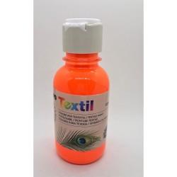 Barva na textil, Oranžová, Fluorescenční, 125 ml