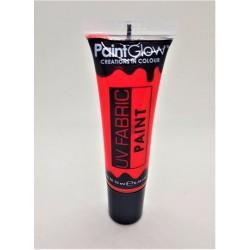 Barva na textil UV červená 10 ml